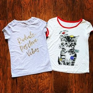 Girl's T-Shirts-Cat & Jack and Justice